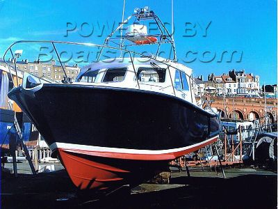 Lochin 33 Extended Wheelhouse (sports fishing/diving boat)