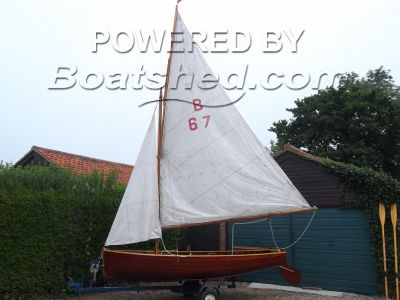 Herbert Woods Norfolk Dinghy Class No B67