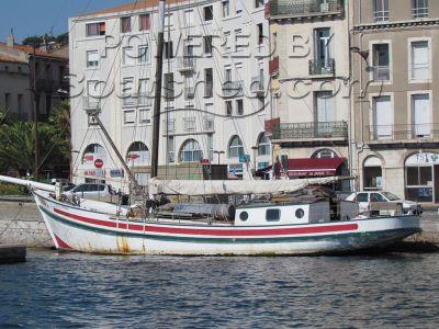 Gaff Rigged Cutter Portuguese Sailing Barge
