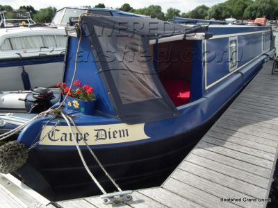 Narrowboat 38ft Cruiser Stern Little Gem