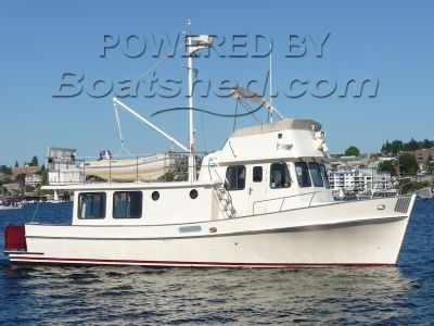 Pacific Trawlers 40 Pilothouse