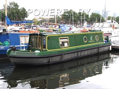 Narrowboat 30ft Cruiser Stern Sea Otter