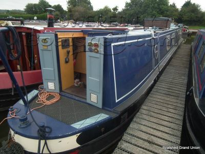 Narrowboat 57ft with Mooring Trad Stern