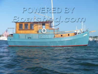 Custom Steel Beam Trawler