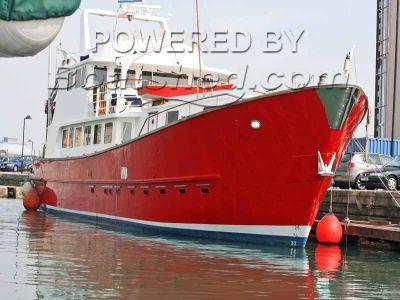 GRP Trawler Yacht Coded