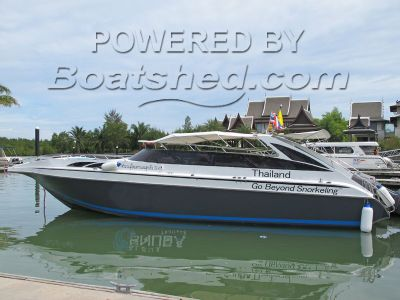 Thai 10.4 Metre Wooden Speed Boat