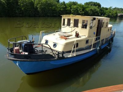 Steel Fishing / Work boat Converted Tug river cruiser