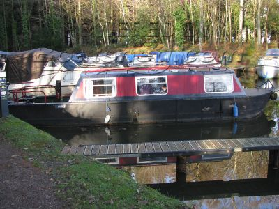 Canal Boat 28ft