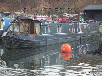 Narrowboat 65ft Trad Stern