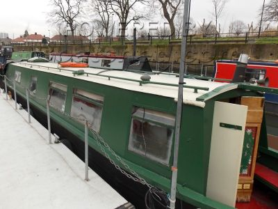 Narrowboat 45ft Semi Trad