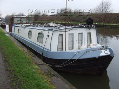 Wide Beam 57 Canal Cruiser