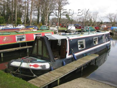 Narrowboat 42ft with Mooring