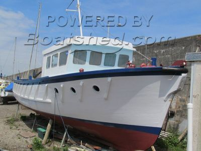 Wooden  Ex Plymouth Pilot Boat Part project