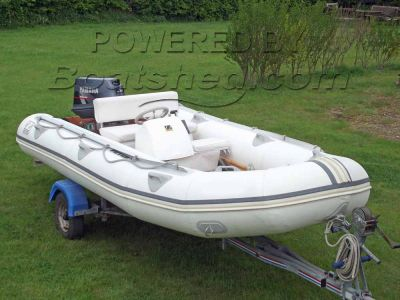 Zodiac rigid inflatable boat