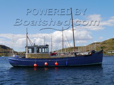 Weatherheads Trawler Ex Rings Netter Conversion - Renovation Project