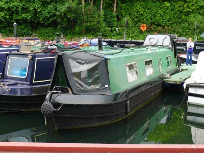 Narrowboat 35ft Traditional Stern