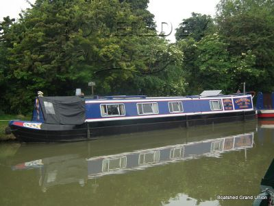 Narrowboat 50ft TradStern Piper Boats Live-aboard