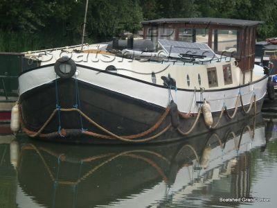 Dutch Barge 17m Live Aboard