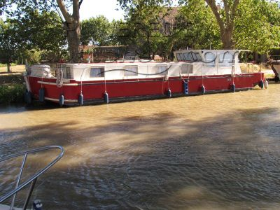 Barge Wide Beam Live Aboard