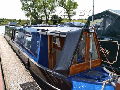 Narrowboat 60ft Trad Stern