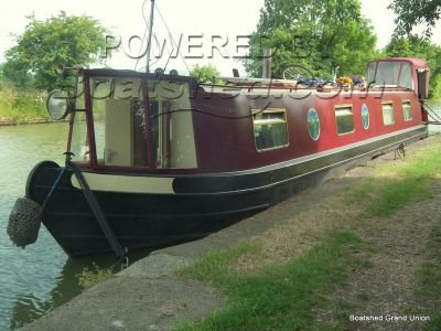 Narrowboat 50ft Cruiser Stern Live-Aboard