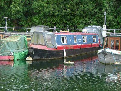 Narrowboat 44ft Trad Stern