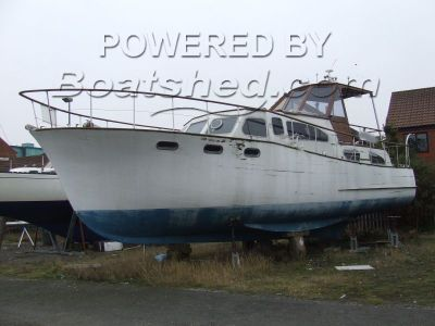 Motor Cruiser 41ft Project