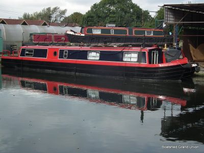 Narrowboat 50ft Cruiser Stern Springer