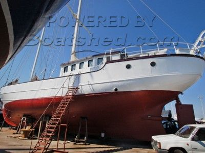 En Jachtwerf De Rietpol Spaarndam Dutch Trawler Conversion