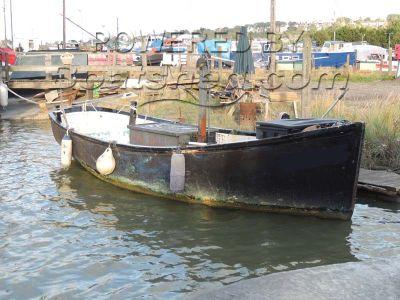 GRP Motor Launch Work boat
