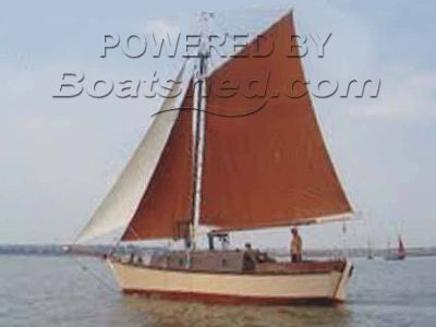 Wooden  Gaff Rigged Cutter 32
