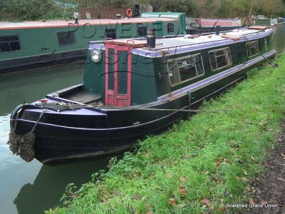 Narrowboat 45ft Trad Stern by David Piper Boats - Project