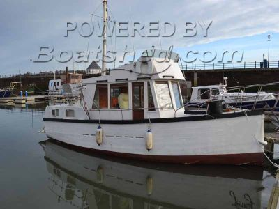 Converted Fishing Smack 30ft Grand Banks Design