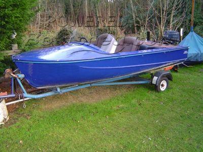 Sarro Terepin Aluminium Speedboat