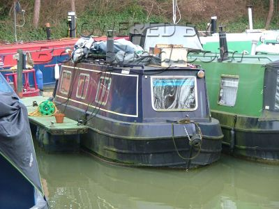 Narrowboat 30ft Trad Stern