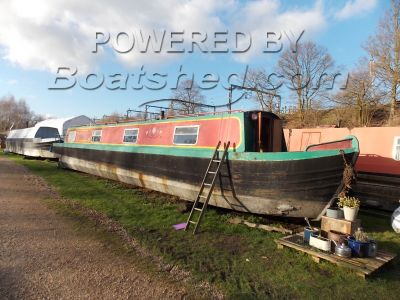 Narrowboat 50ft Cruiser Stern Project