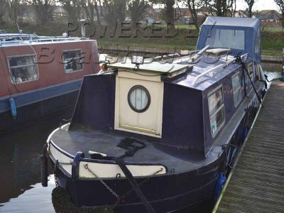 Narrowboat Springer 30 Cruiser Stern