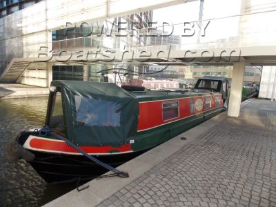 "Narrowboat 40ft Cruiser Stern ""Noreseman"""