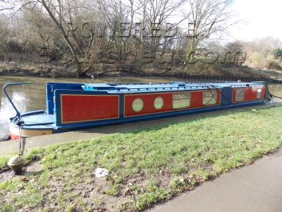 Narrowboat 50ft Semi Trad