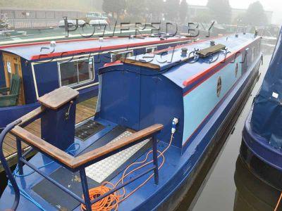 Narrowboat 57ft Cruiser Stern