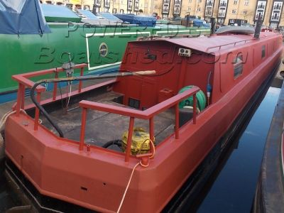 Narrowboat 70ft Cruiser Stern Almost finished project