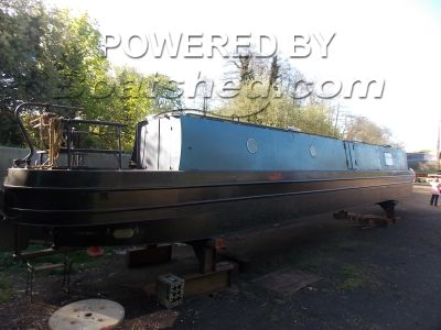 Narrowboat 57ft Cruiser Stern Near Completed Project
