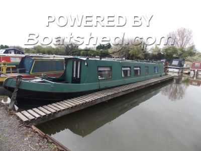 Narrowboat 50ft TradStern