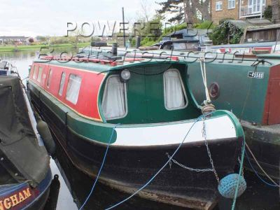 Narrowboat 44ft