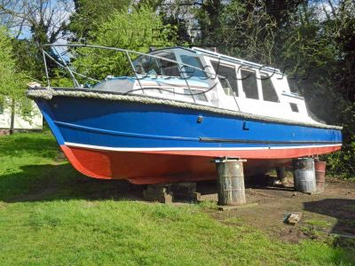 Wooden  Motor Launch Exe Harbour Launch