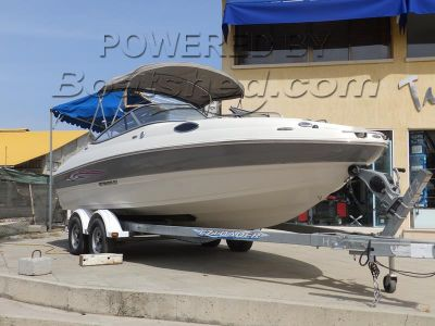 Stingray 208CR Sport Deck Cuddy