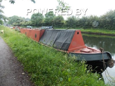 Narrowboat 50ft TradStern Project