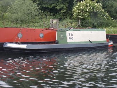 Narrowboat 30ft Trad Stern Tug project