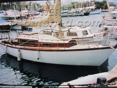 Classic Wooden Sloop 32ft