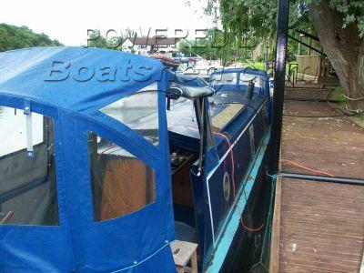Narrowboat 35ft Cruiser Stern